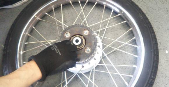 川西市 出張バイク修理1