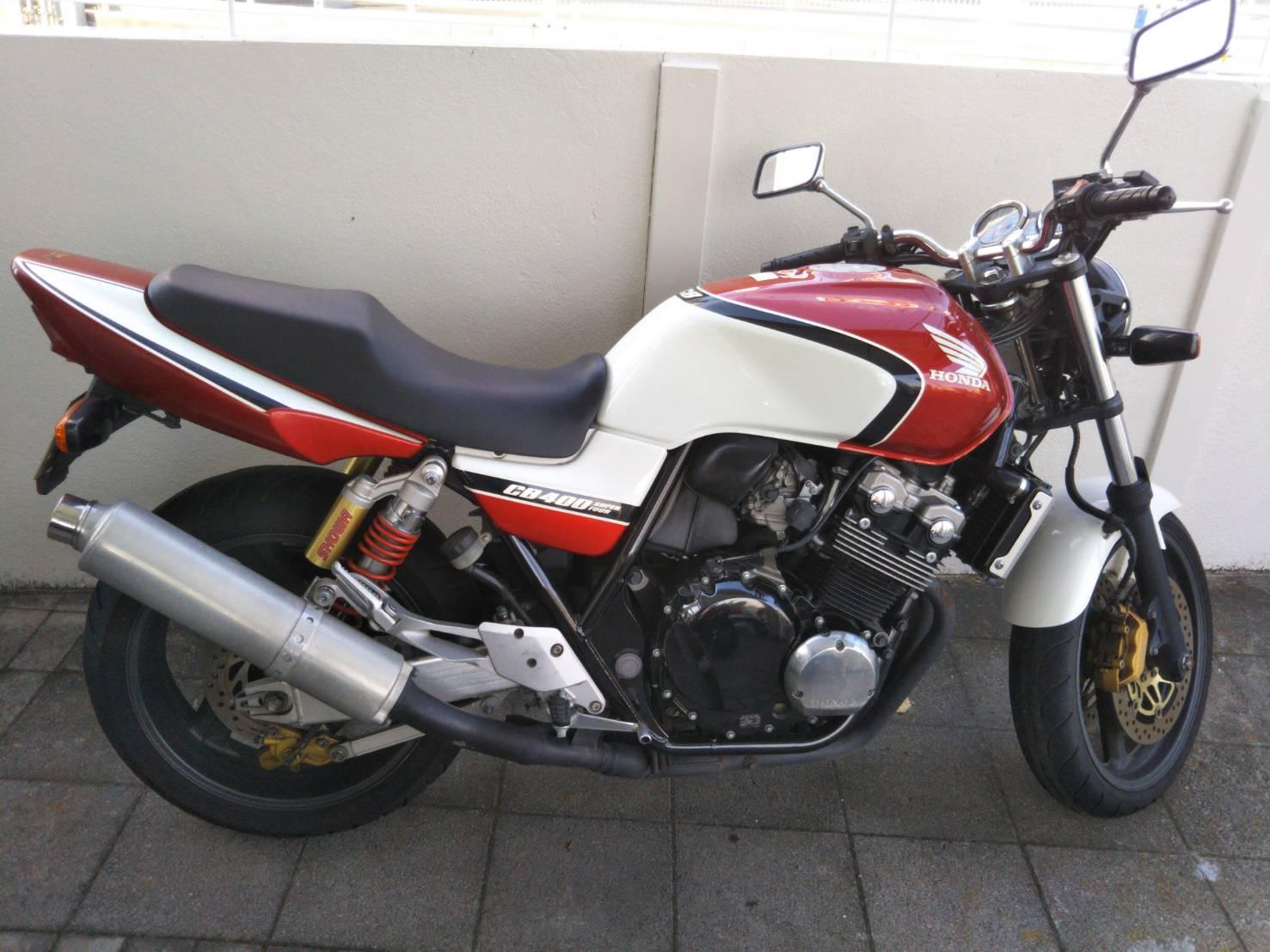 HONDA CB400スペック2